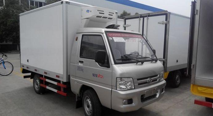 福田驭菱小型冷藏车